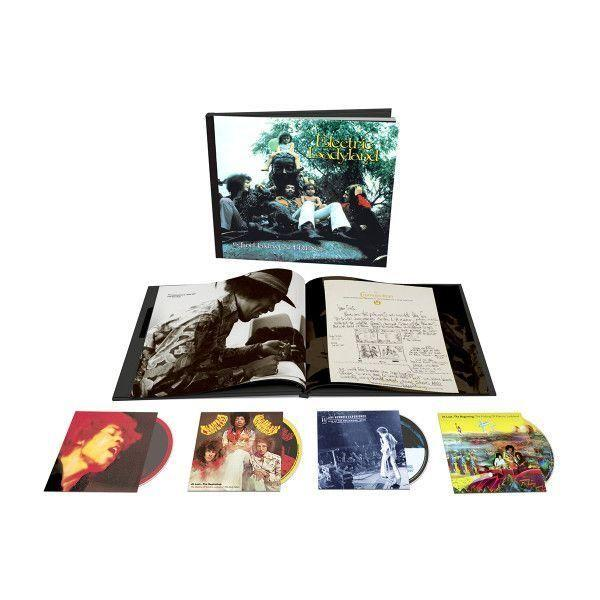 Jimi Hendrix ELECTRIC LADYLAND: 50TH ANNIVERSARY DELUXE EDITION Vinyl Record Box Set